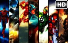 Superheroes HD Wallpaper Superhero New Tab