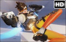 Overwatch Tracer HD Wallpaper New Tab Themes