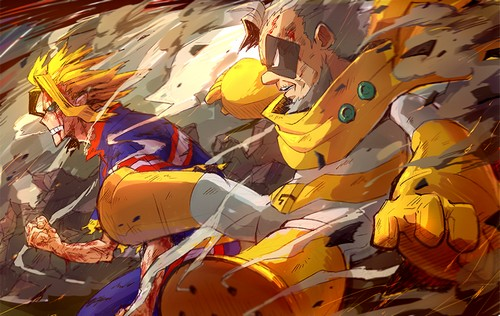 all might 8