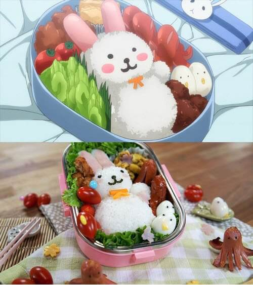 japanese food in anime 14