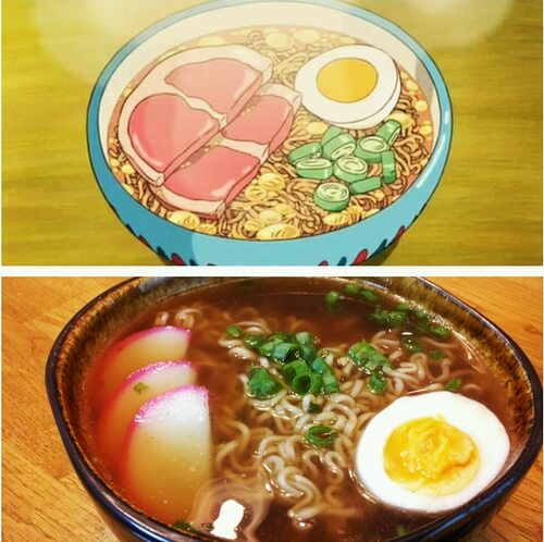 japanese food in anime 8