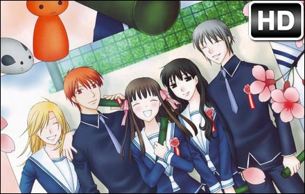 Fruits Basket Anime HD Wallpapers New Tabs