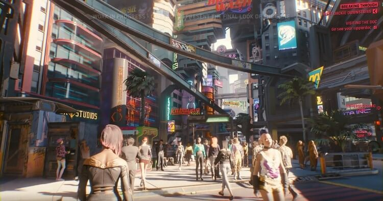 cyberpunk 2077 gameplay demo 15