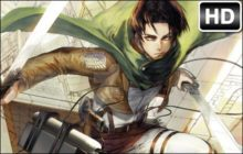 Attack on Titan Levi HD Wallpapers New Tab