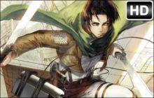 Attack on Titan Levi HD Wallpapers New Tab