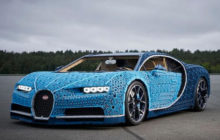A Full-Size LEGO Bugatti Chiron: When A Supercar Is Made of Bricks!