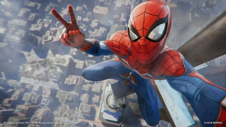 marvel spider man ps4 1