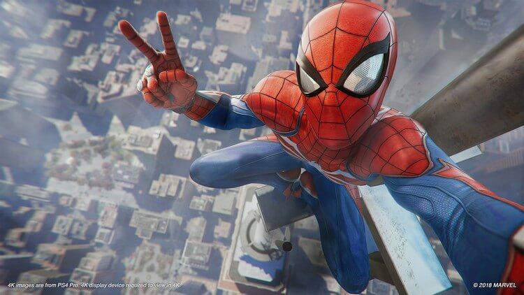 marvel spider man ps4 1