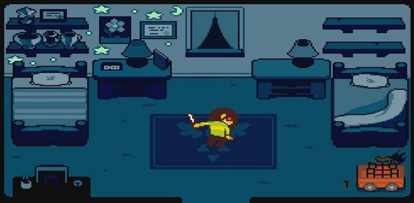 what is deltarune about 12