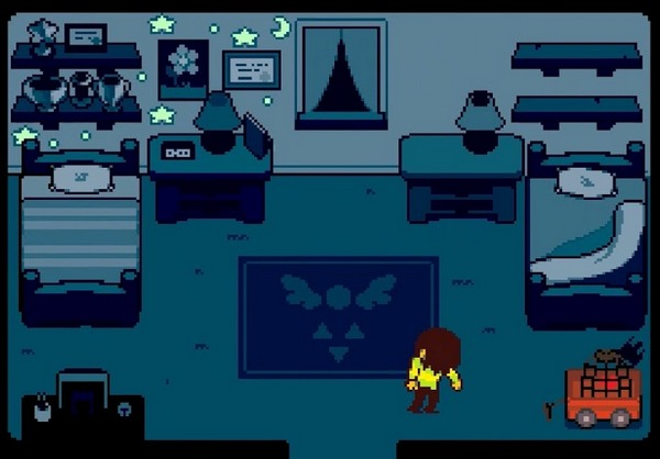 what is deltarune about 15