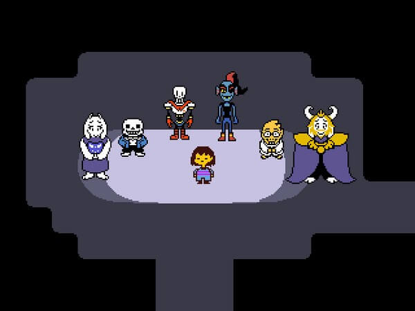 what is deltarune about 16