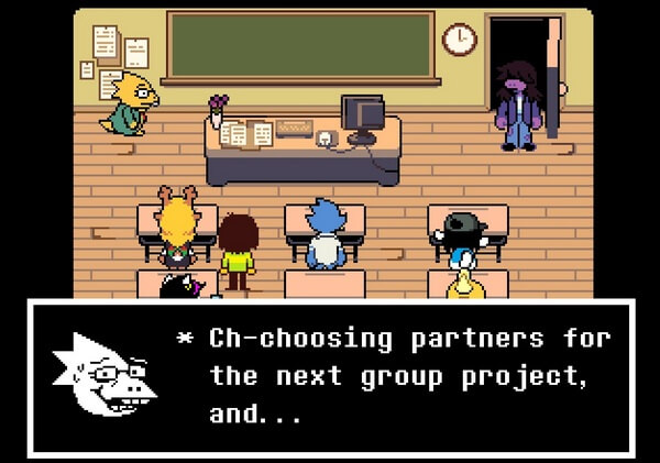 what is deltarune about 3