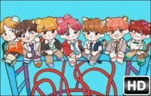 BTS Chibi HD Wallpapers New Tab Themes