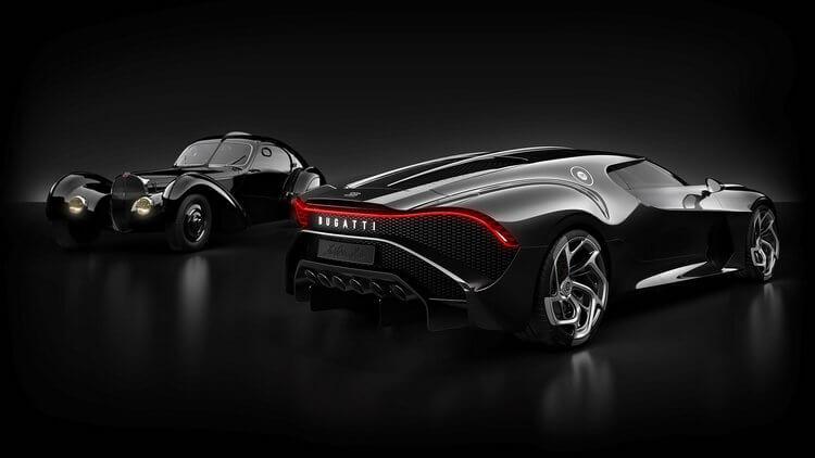 bugatti la voiture noire first look 10