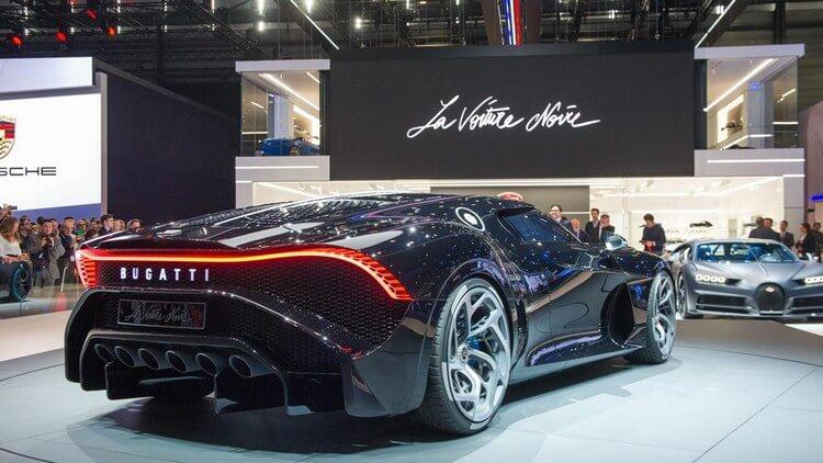 bugatti la voiture noire first look 2