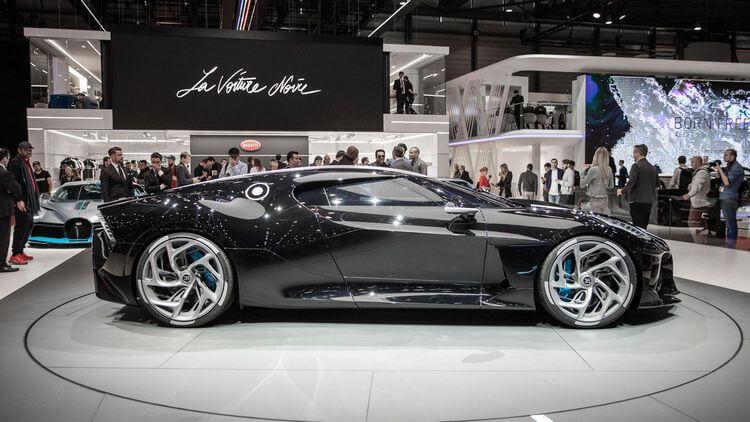 bugatti la voiture noire first look 5