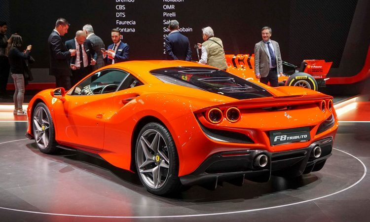 ferrari f8 tributo first look 2