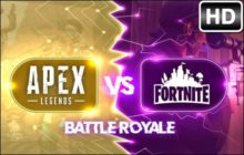 Fortnite vs Apex Legends HD Wallpapers Newtab