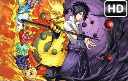 Naruto VS Sasuke HD Wallpapers New Tab Themes | HD Wallpapers & Backgrounds