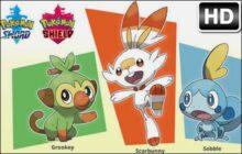 Pokemon Sword and Shield Custom New Tab